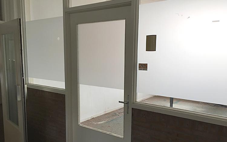 Door to the old Mr. Upside art studio, which is just emptied.