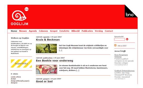 Nieuw design e-zine: Ooglijm - Een samenwerking met de Beroepsorganisatie Nederlandse Ontwerpers