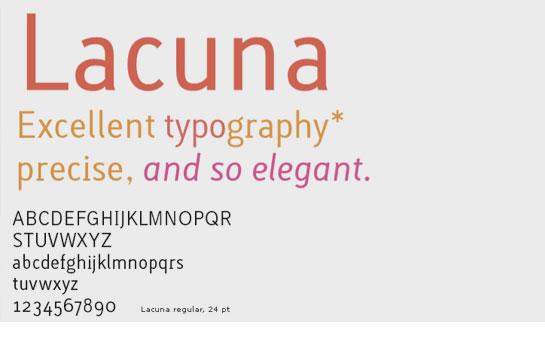 Gratis goede typografie downloaden