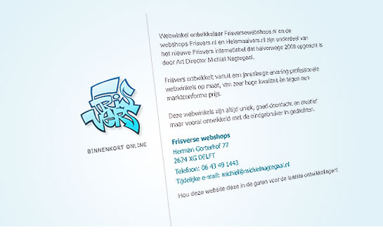 Webwinkel Frisvers.nl en webshop bouwer Frisversewebshops.nl