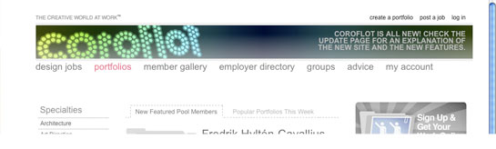 Coroflot Design Jobs and Portal