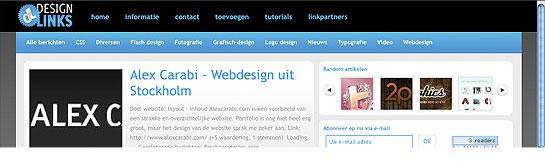 Design-links.nl - Portal with design inspiration