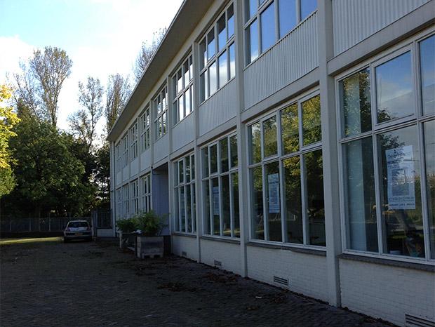 Foto 1 - Buitenzijde bedrijfsverzamelpand D, onderdeel van De Verlichting in Voorburg - Den Haag