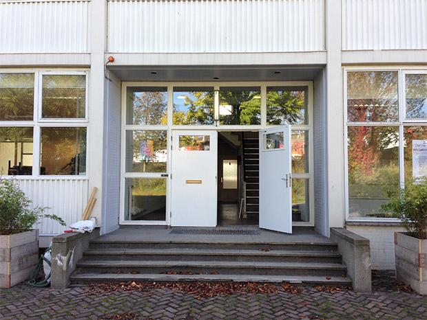 Foto 2 - Entree van bedrijfsverzamelpand D, onderdeel van De Verlichting in Voorburg - Den Haag