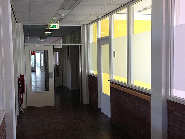 Foto 4 - Gang op 2e verdieping van bedrijfsverzamelpand D, onderdeel van De Verlichting in Voorburg - Den Haag