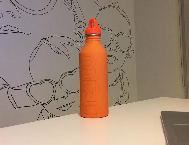 Received my stainless steel Mizu water bottle