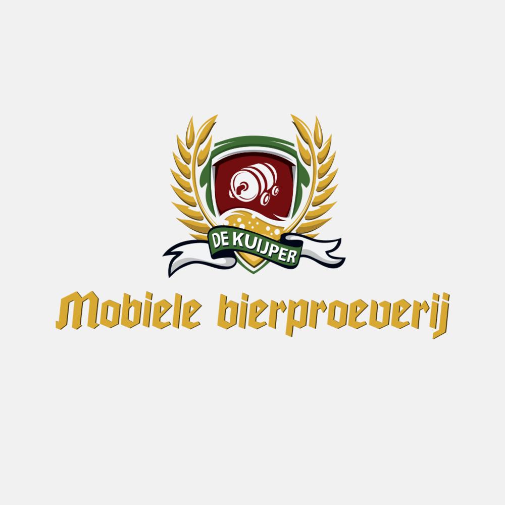 Mobiele Bierproeverij - Final logo with typography