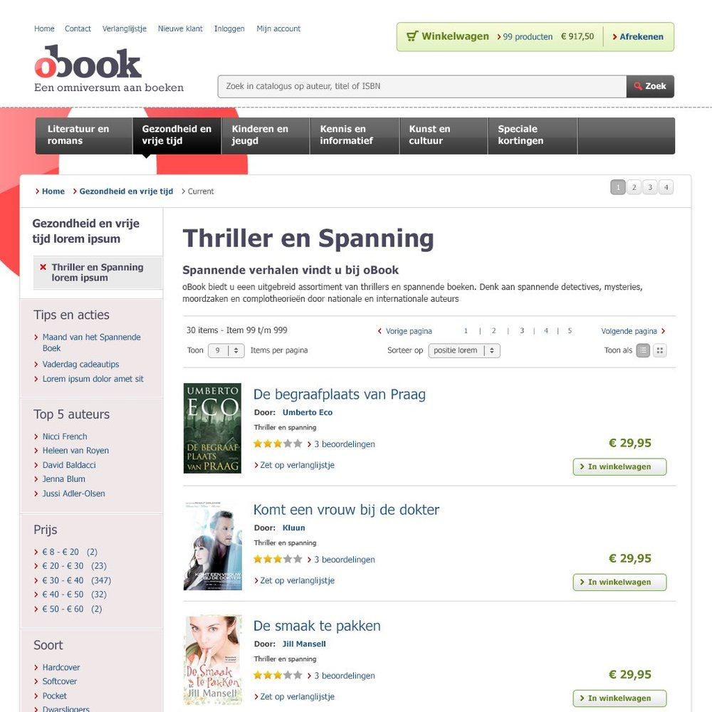 OBOOK.NL E-BOOK WEBSHOP
