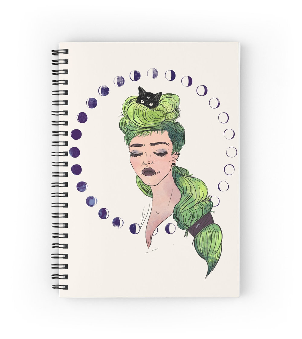 LUNAR GODDESS NOTEBOOK