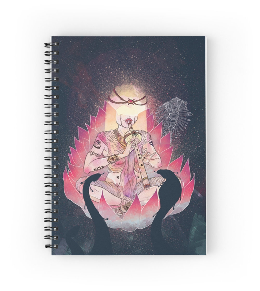HYPNOTIZE ME NOTEBOOK