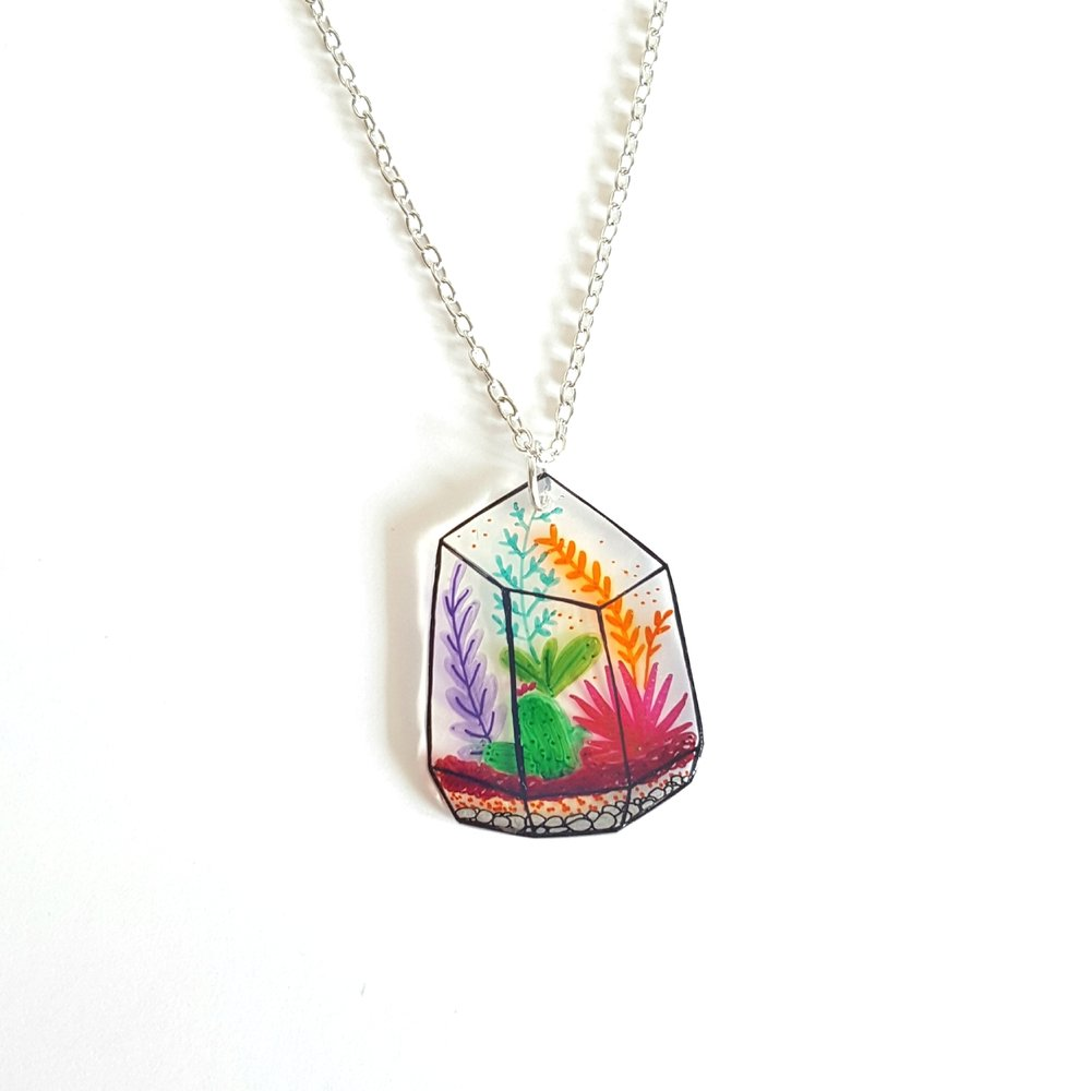 PLANT TERRARIUM NECKLACE