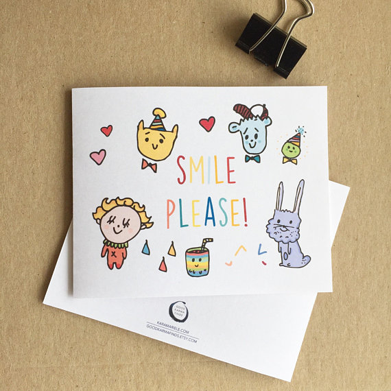 SMILE PLEASE CARD
