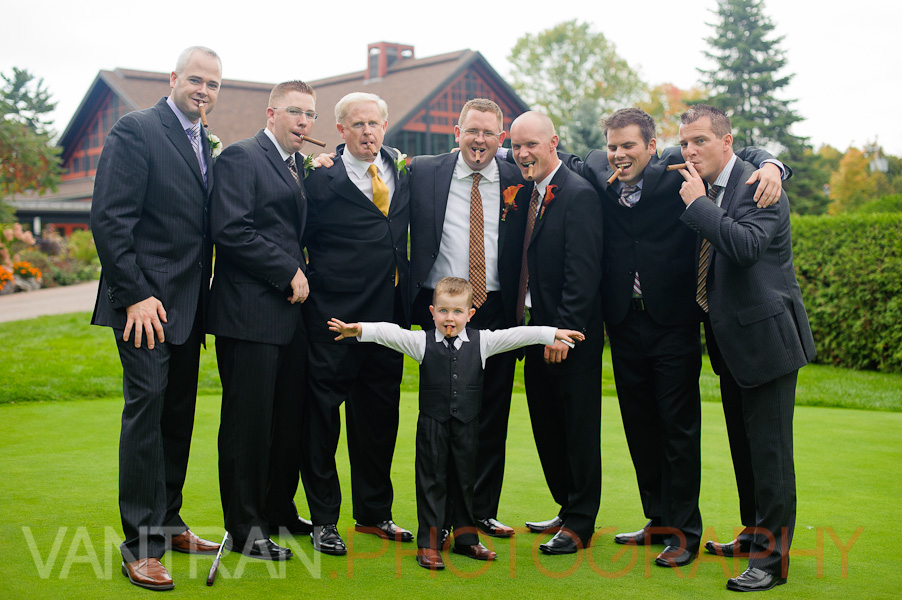 formal groom groomsmen