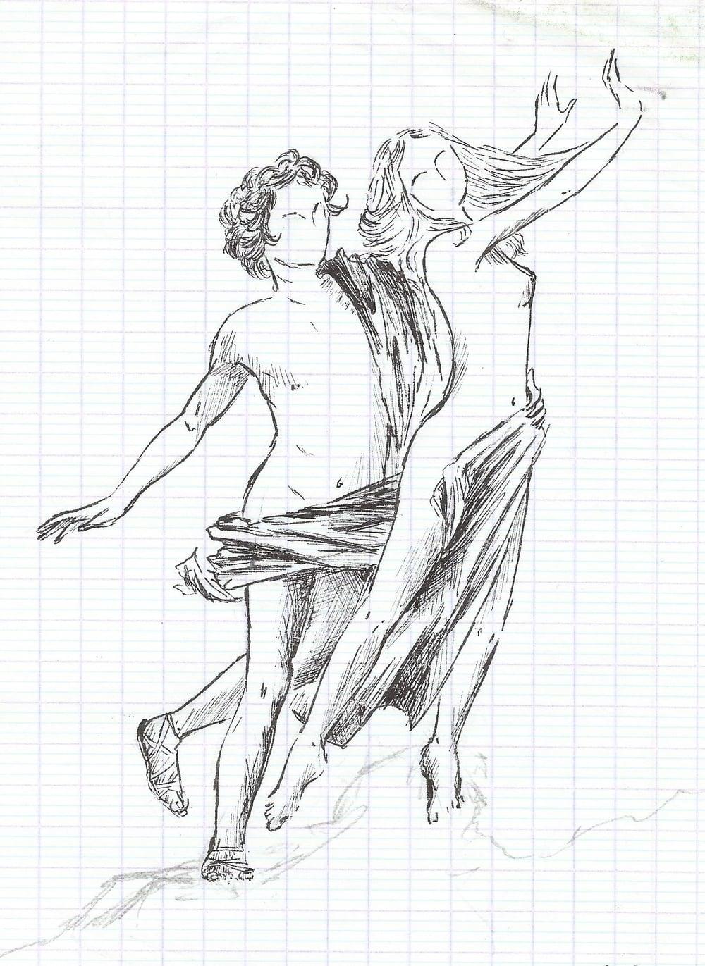 D'après Daphné et Apollon