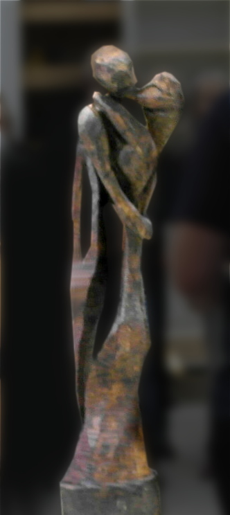 Tango, une sculpture de Jean-Pierre Vigneau