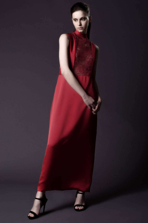 L SAHA AW16 Belle Rouge Dress 1.jpg