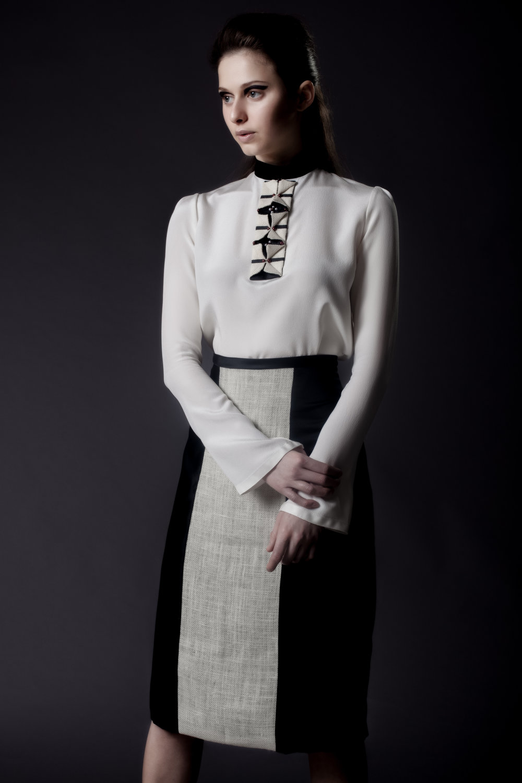 L SAHA AW16 Cherries Blouse & Viola Imperial Skirt.jpg