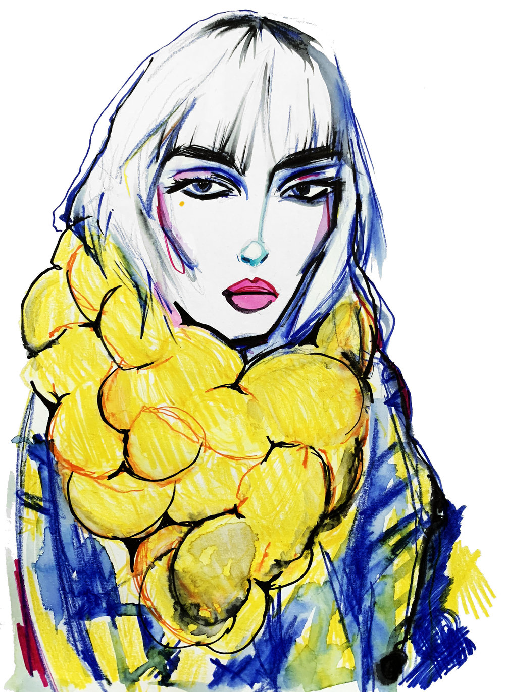 0b76ab7a21 Fashion Scout AW19, Illustrated