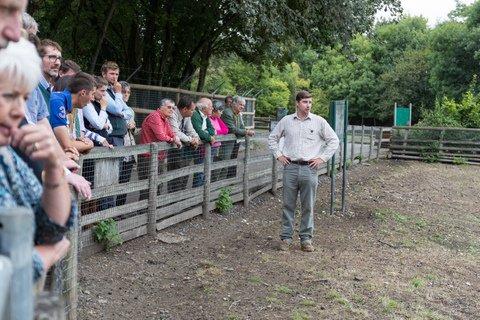 The farm tour.