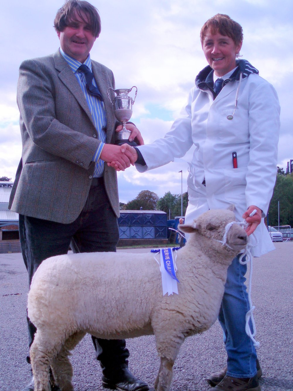 Reserve Champion : Sutherland April 18/00361, bred and shown by Mrs Amy Readhead-Higgins