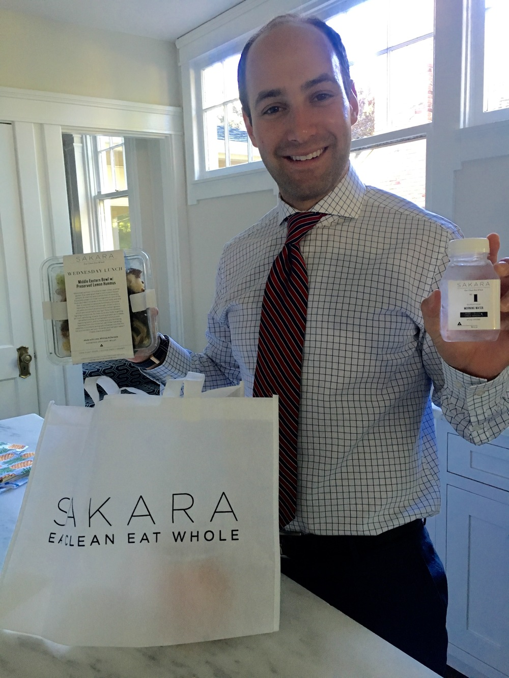 My husband loved Sakara Life and only had to supplement the breakfast meals