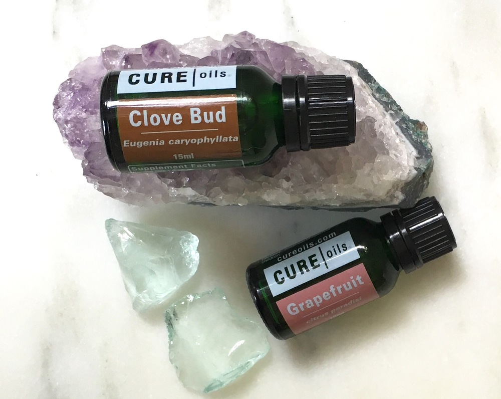 Love using clove bud and grapefruit distilled in water as disinfectant (plus a little aromatherapy!)