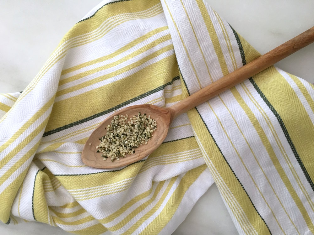 There are endless ways to  use hemp seeds to pack some extra protein. I love them sprinkled in breakfast favorites like smoothie bowls and oatmeal.