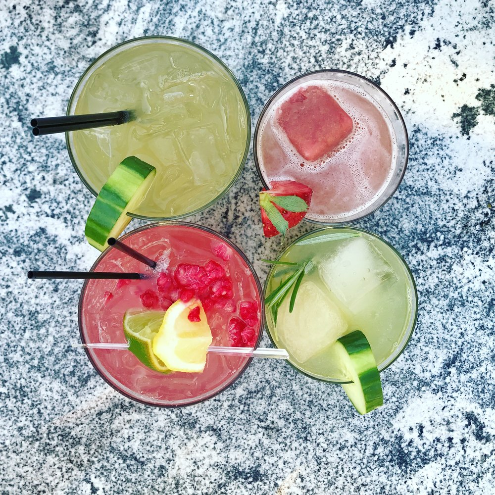 Creative cocktails to pair with local charcuterie from Red Hog Butcher