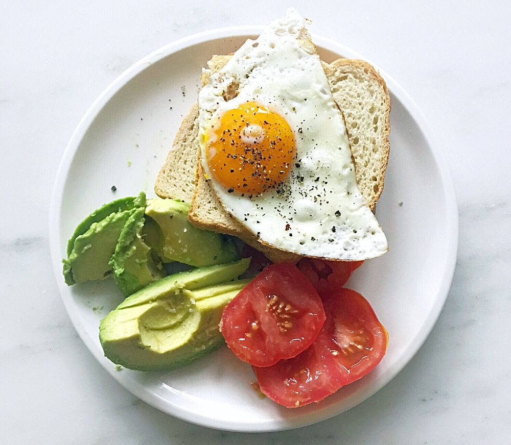 Whether you fast en route or not, eating a protein packed pre-airport breakfast is a must