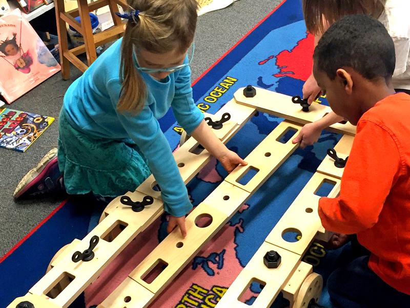 Exploring modularity; 3 short planks = 1 long plank