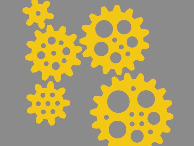 Gears from the Simple Machines Add-On Kit