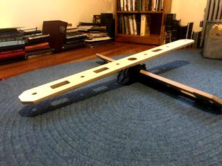 Balanced plank