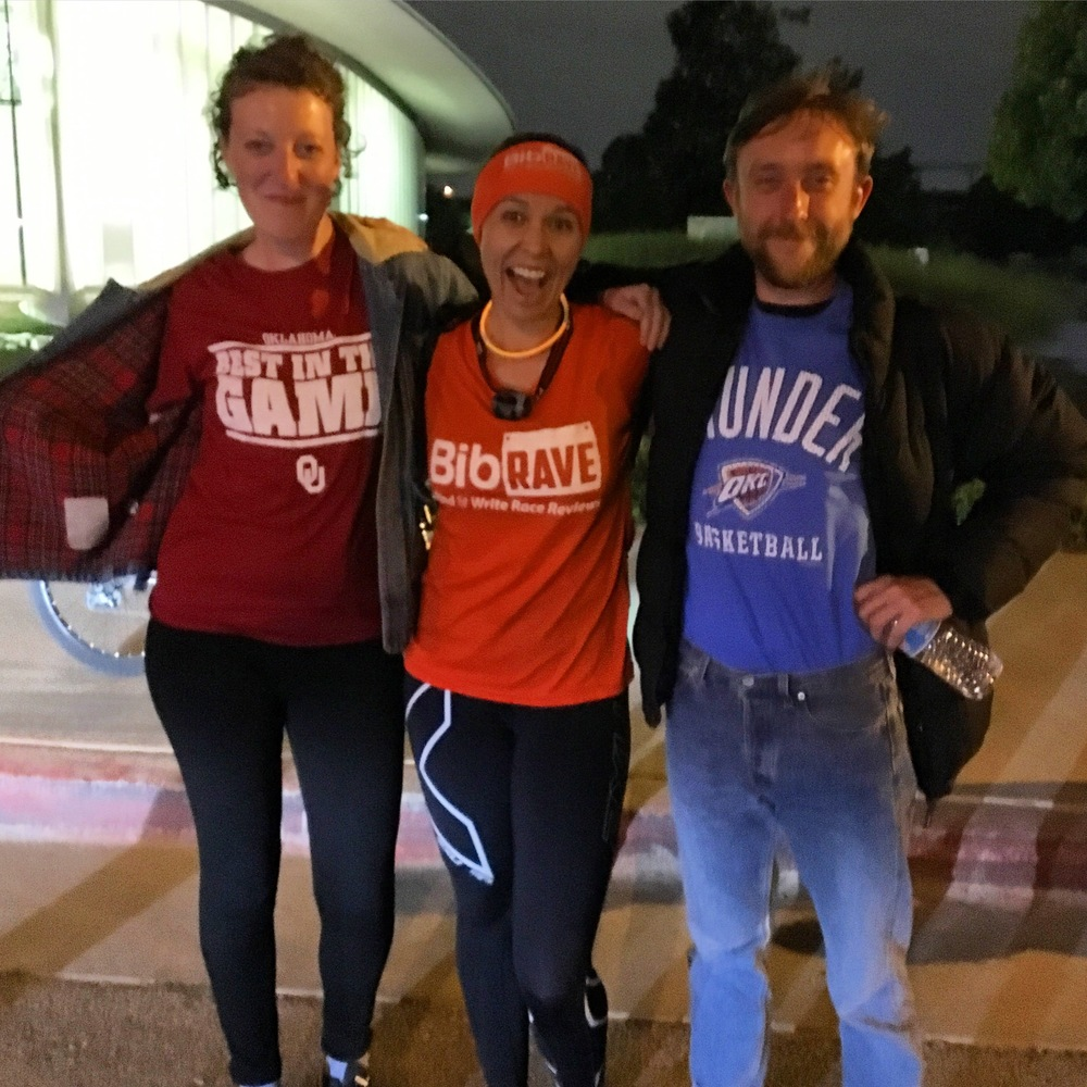 Fran and Mikey wearing their Oklahoma gear! #Boomersooner #thunderup