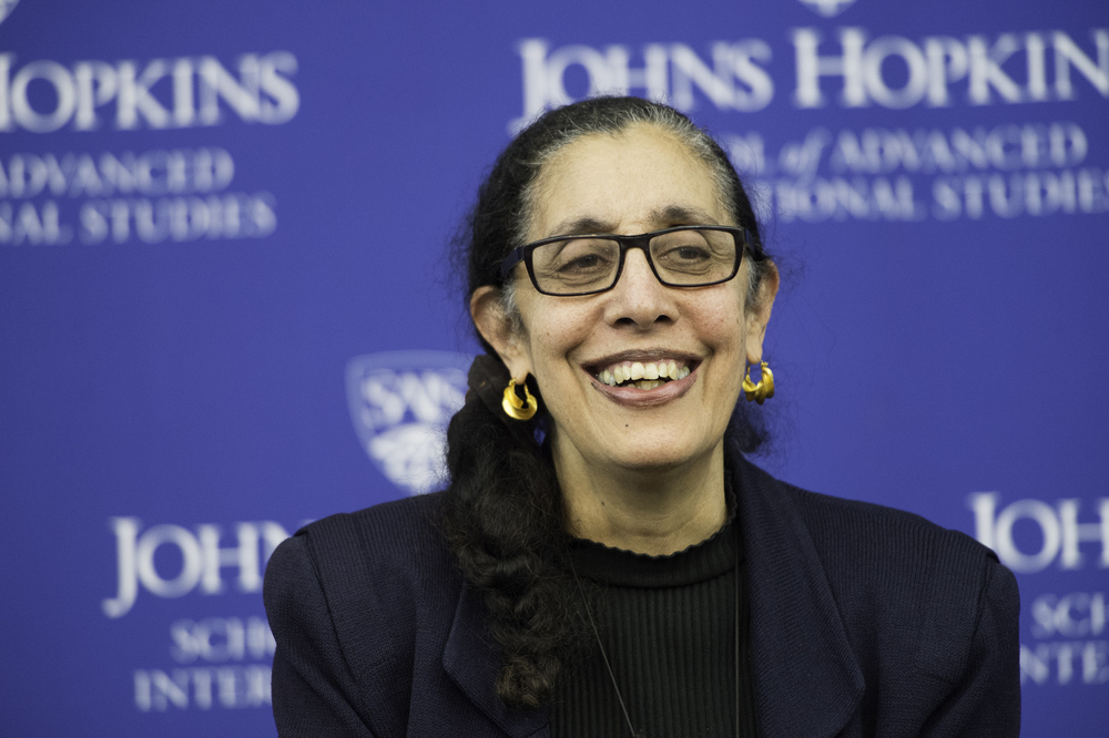 Lani Guinier, Bennett Boskey Professor of Law, Harvard University Law School, speaks at Johns Hopkins SAIS, February 16, 2016.