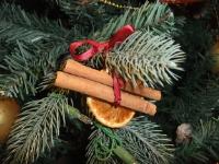 Christmas Orange and Cinnamon Decoration