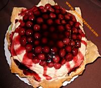 """Black Forest """"inspired"""" cake"""