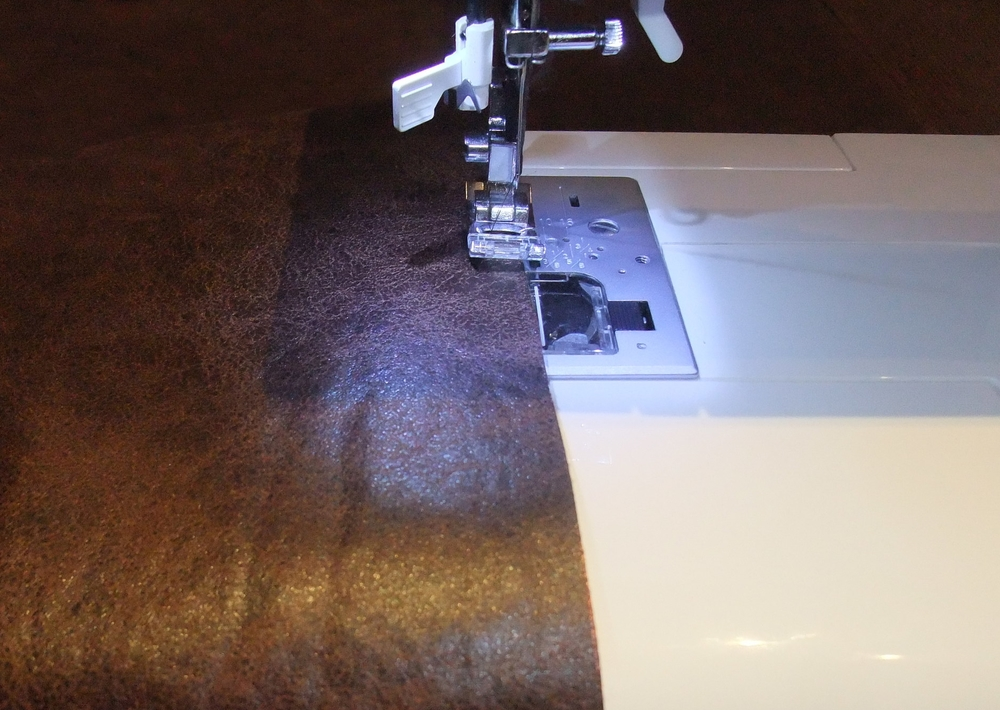 Leather Table Runner Craft