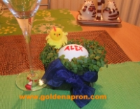 Easter Name Place Holder Ideas Table Decorations