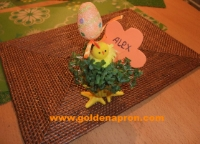Easter Table Decorations Ideas Recipes Name Place Holders
