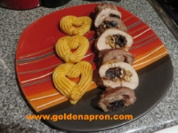 Chicken and Pork Roulades Medley