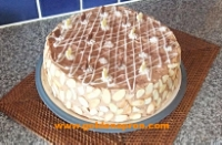 Hazelnut Meringue Cake