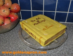 Book Cake: Finish!