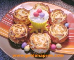 Low Carb Easter Coconut Cream Cheese Baked Pudding Recipe