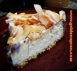 Low Carb Coconut Almond Cheesecake Recipe