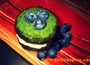 Low Carb Spinach Cake