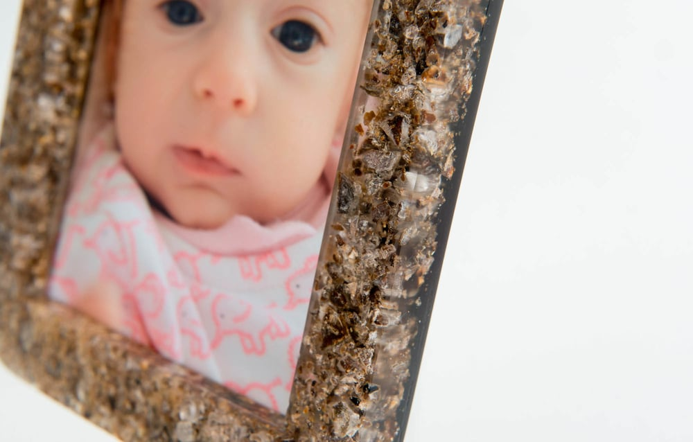 The Placenta Photo Frame