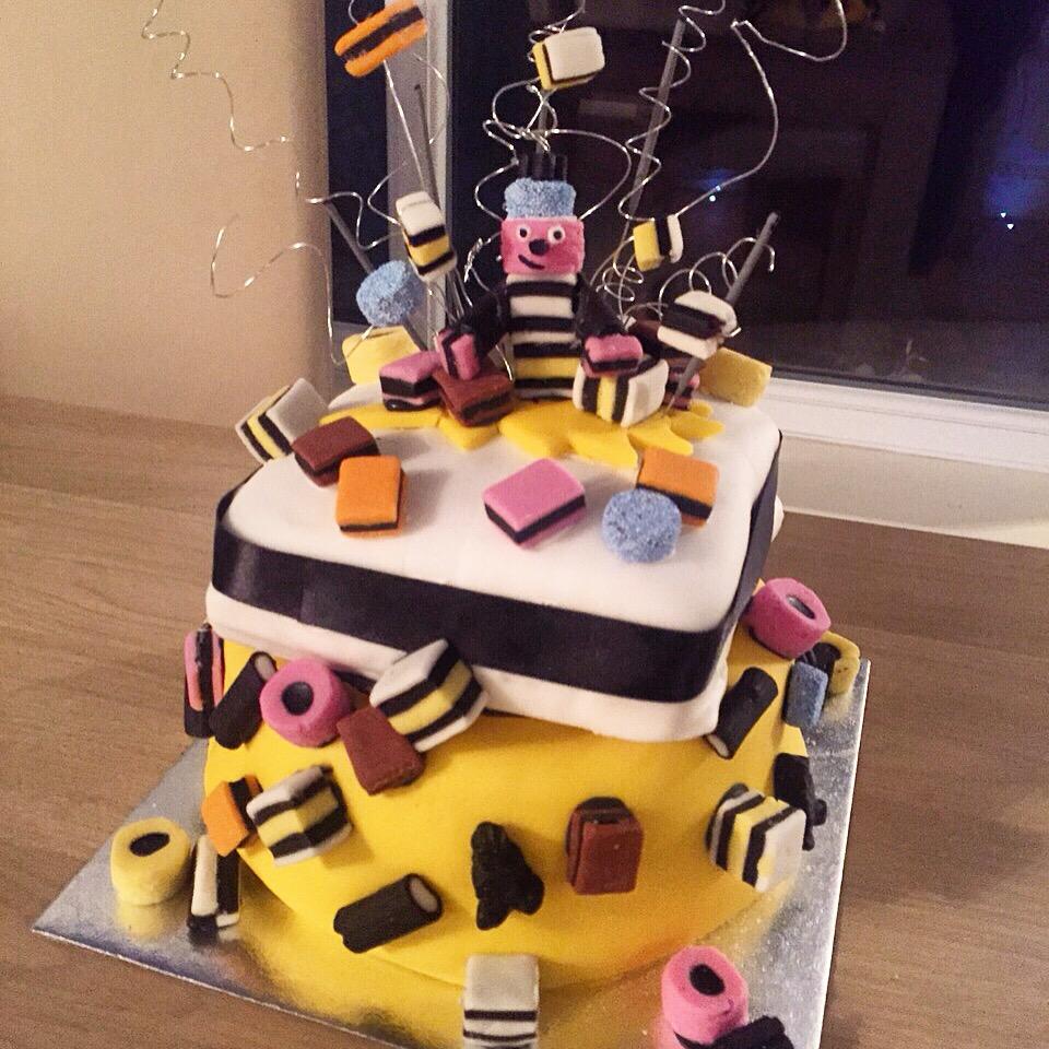 Amanda Cotton Cake!