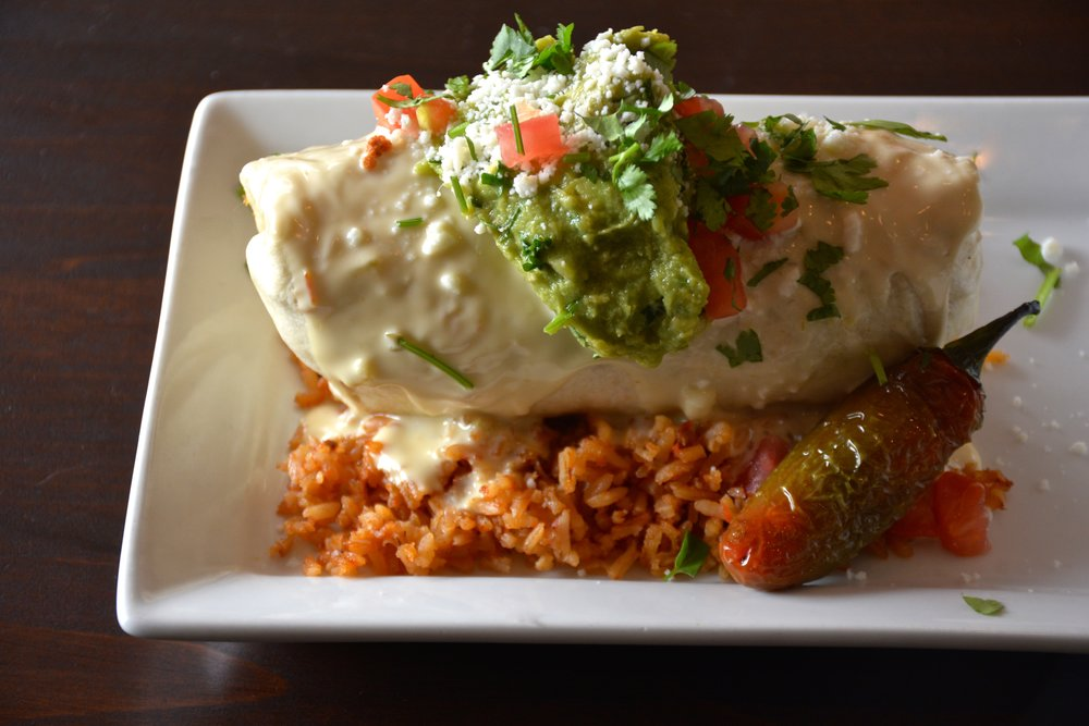 Breakfast Burrito - If you are like me, ask for extra queso blanco mornay