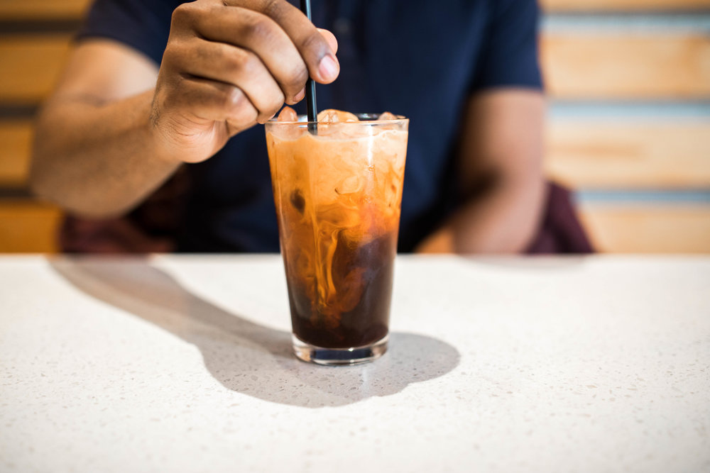 Best Thai Food in Kansas City: Koko Thai-Thai Iced Tea, Kasim Hardaway