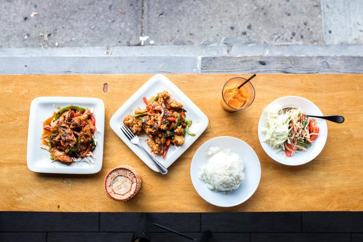 Best Thai Food In Kansas City Koko Thai Kasim Hardaway